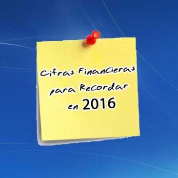 4 Cifras Contables del 2016 que Debes Recordar