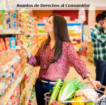 Asuntos de Derechos al Consumidor